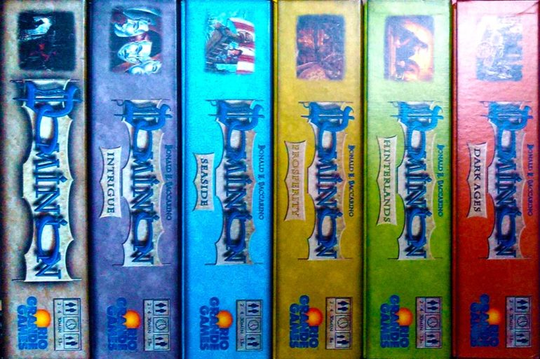 Dominion Expansions Guide - All Expansion Boxes