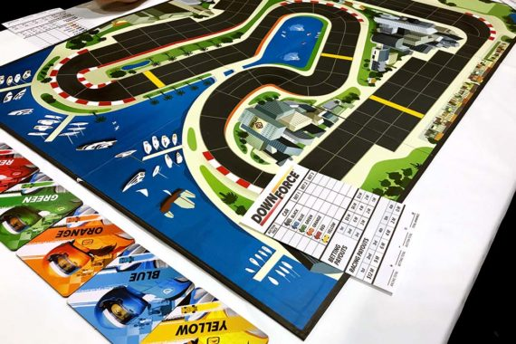 Downforce Board Game