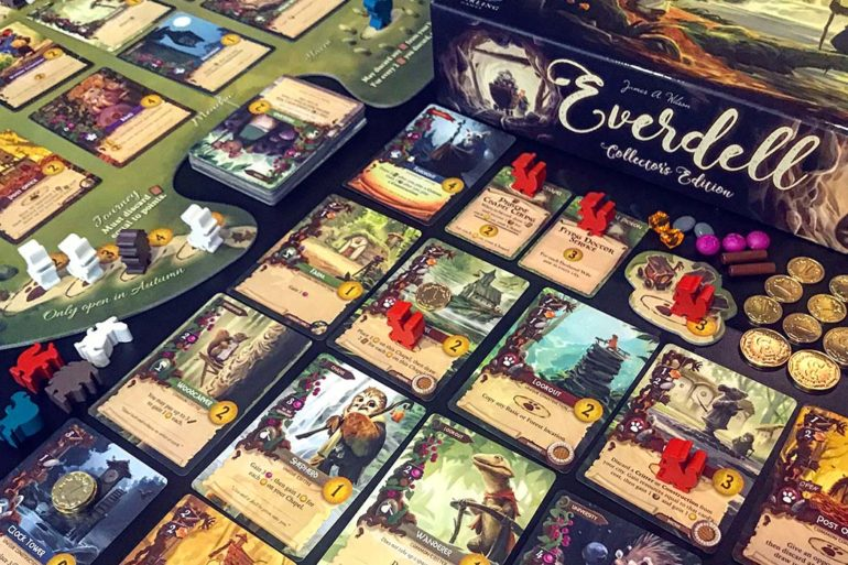 Everdell Collectors Board Game