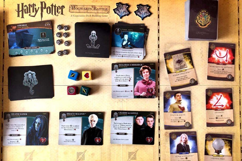Harry Potter Hogwarts Battle Board Game