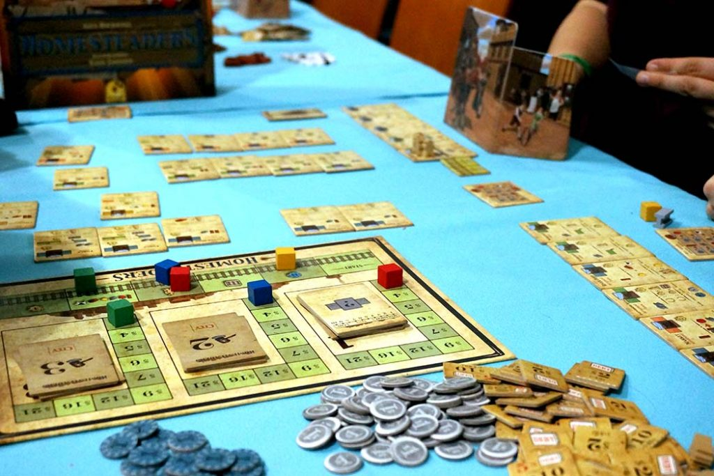 Homesteaders Board Game