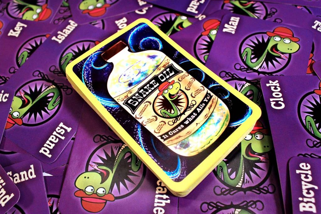 Snake Oil Board Game
