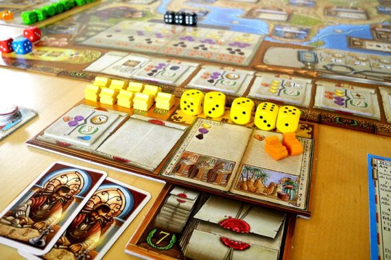 Voyages of Marco Polo Medieval Board game