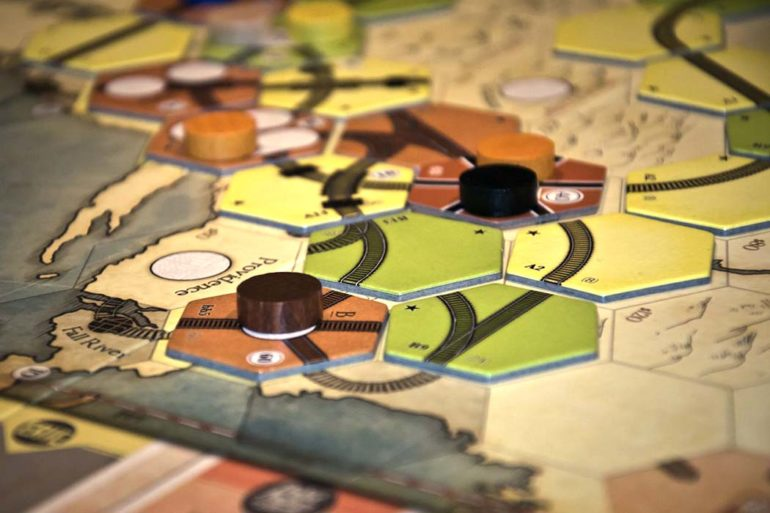 1830: Railways and Robber Barons Board Game