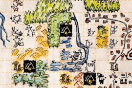 Cartographers Board Game Map Illustrations