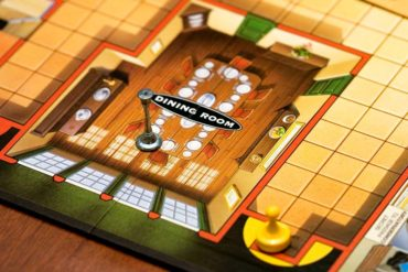 Clue Board Game Candlestick Dining Room