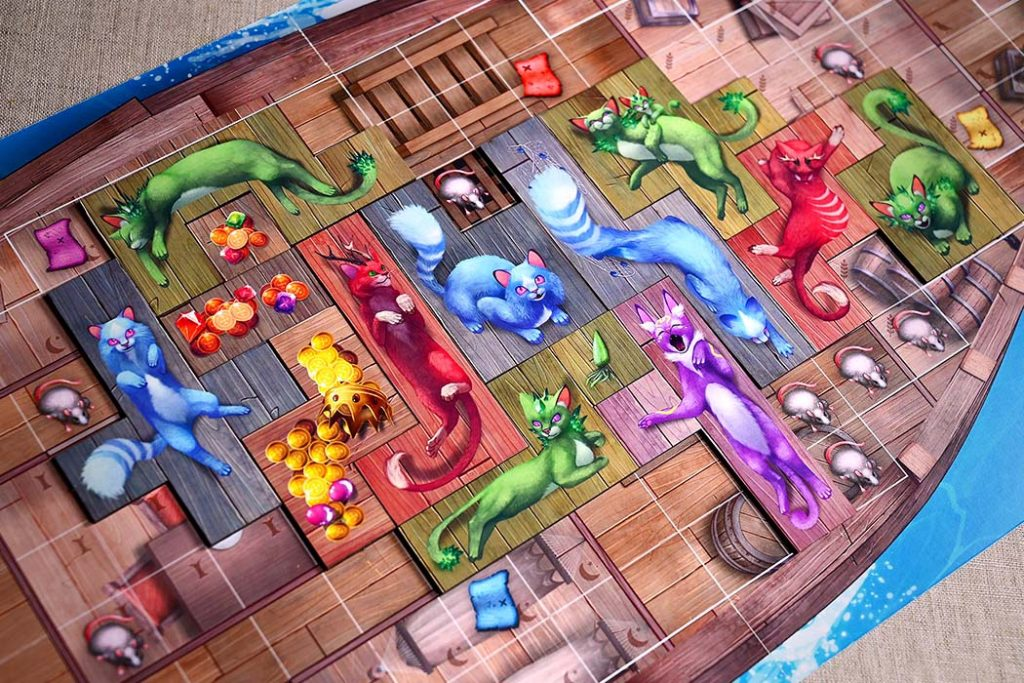 Isle of Cats Board Game