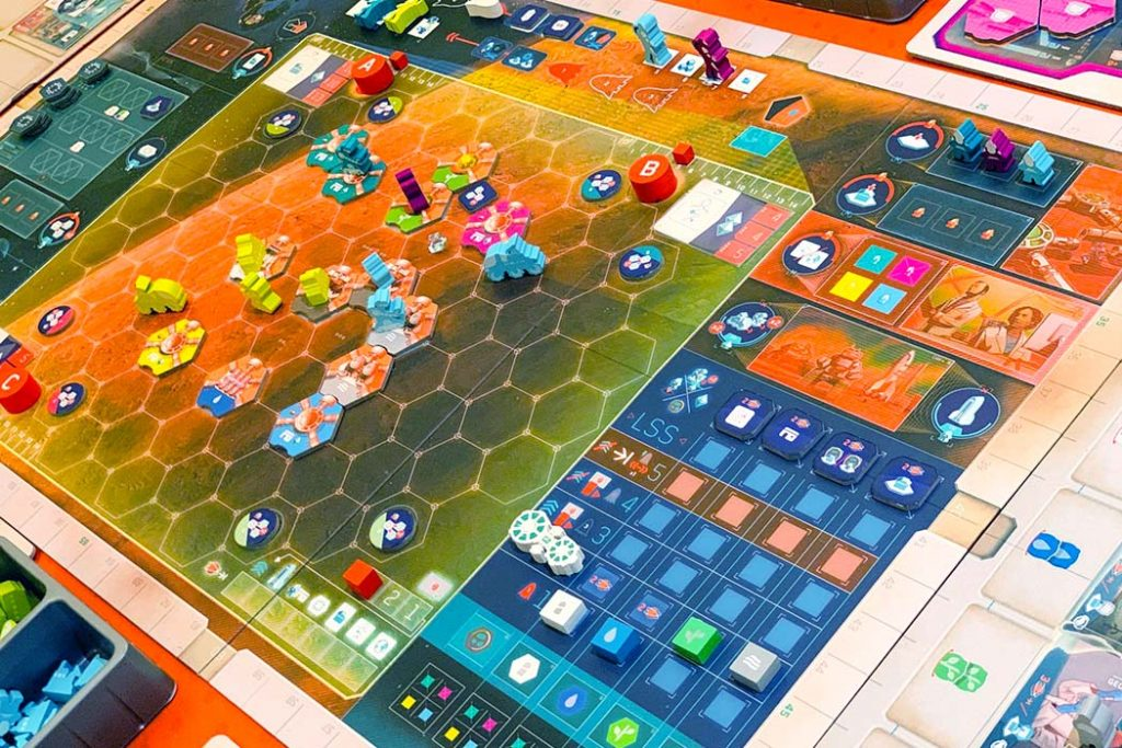 On Mars Board Game