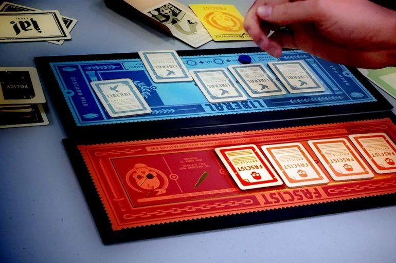 Secret Hitler Board Game Law Pass