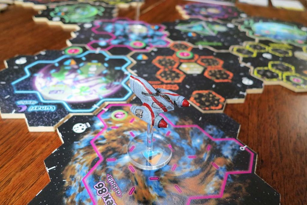 Xia Legends of a Drift System Board Game