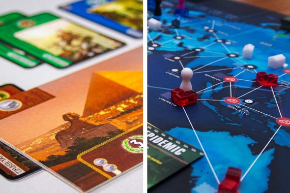 7 Wonders vs Pandemic