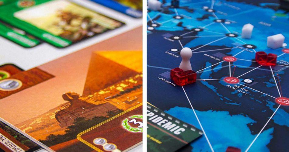 7 Wonders vs Pandemic