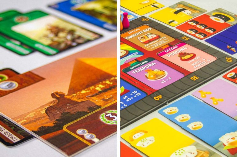 7 Wonders vs Sushi Go