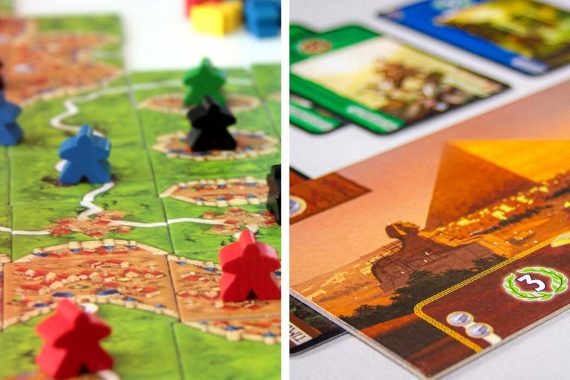 Carcassonne vs 7 Wonders