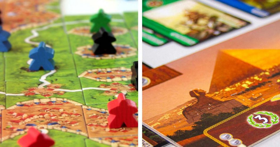 Carcassonne vs 7 Wonders