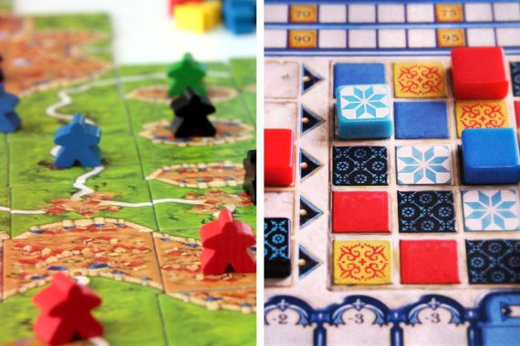 Carcassonne vs Azul