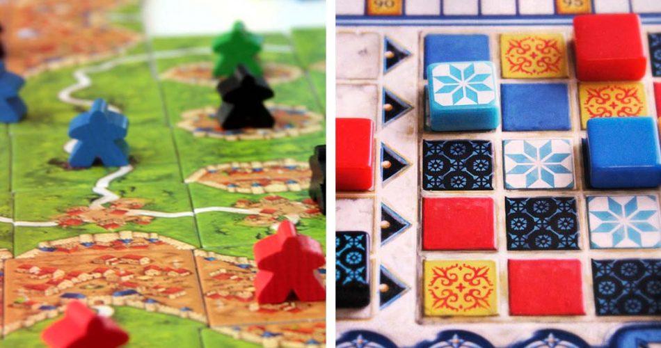 Carcassonne vs Azul