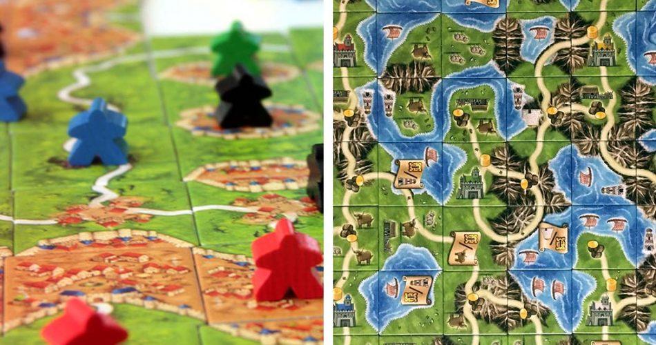 Carcassonne vs Isle of Skye