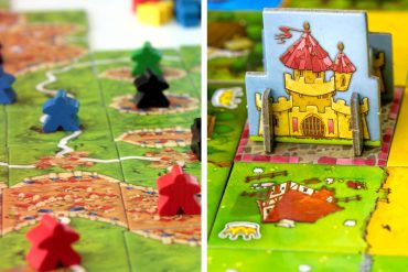 Carcassonne vs Kingdomino