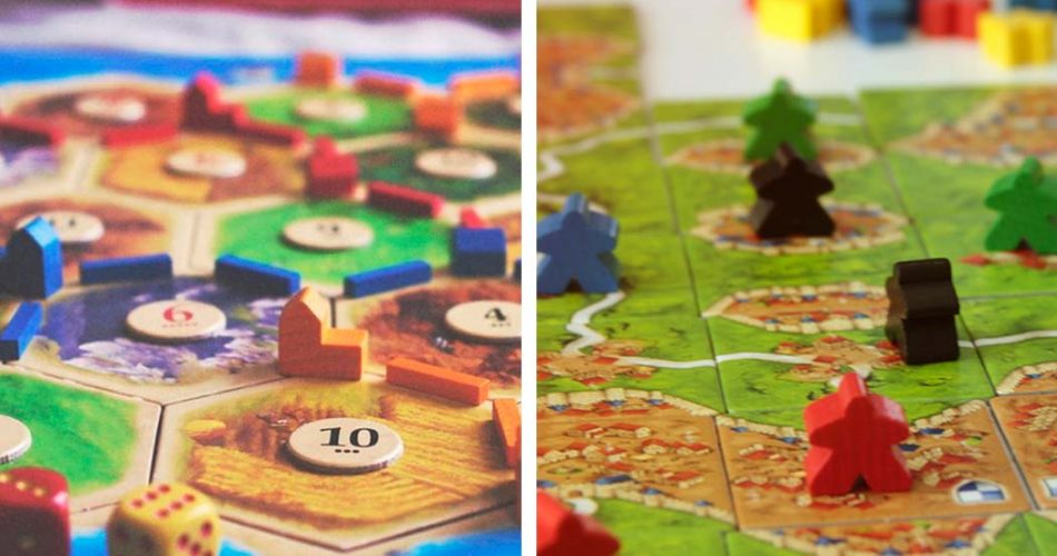 Catan vs Carcassonne