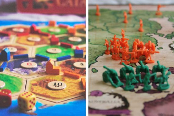 Catan vs Risk