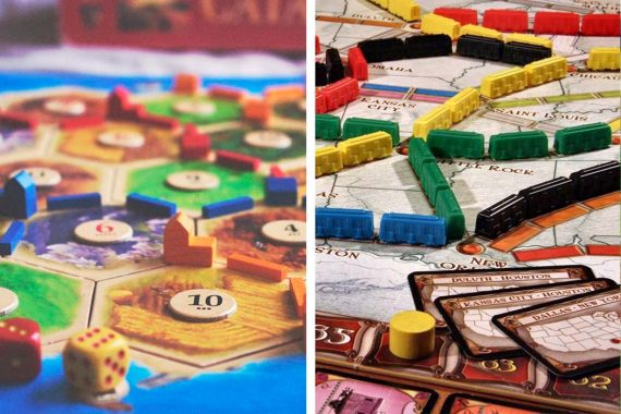Catan vs Ticket To Ride