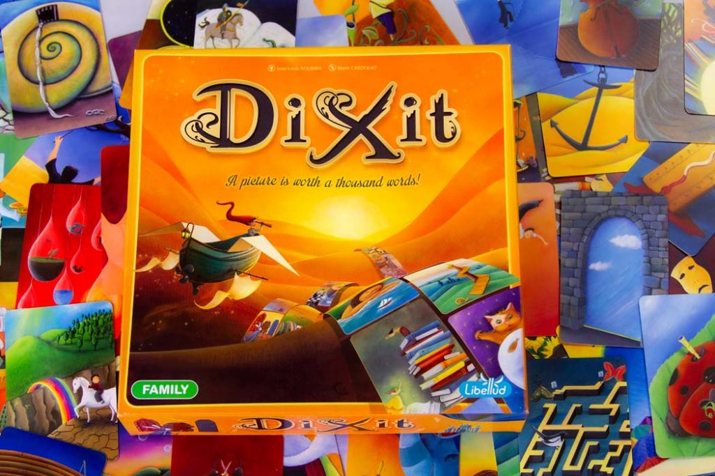 Dixit Board Game Game Box Card Pool