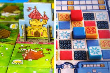 Kingdomino vs Azul
