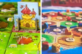 Kingdomino vs Catan