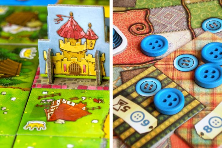 Kingdomino vs Patchwork