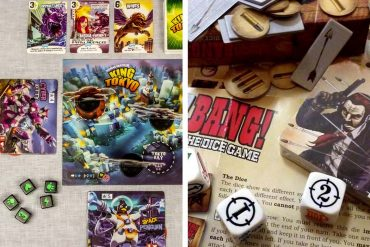 King of Tokyo vs Bang The Dice Game