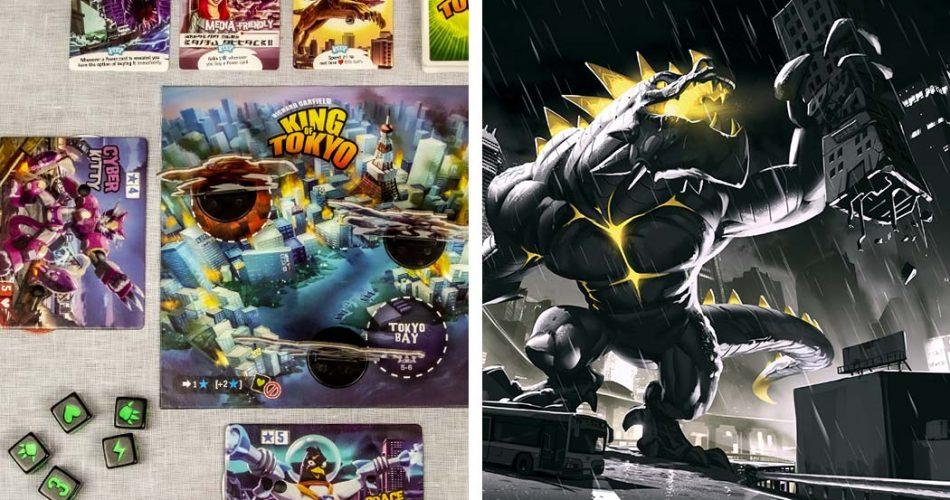King of Tokyo vs Dark Edition
