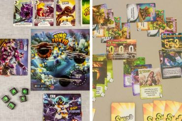 King of Tokyo vs Smash Up