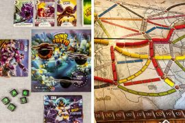 King of Tokyo vs Ticket To Ride