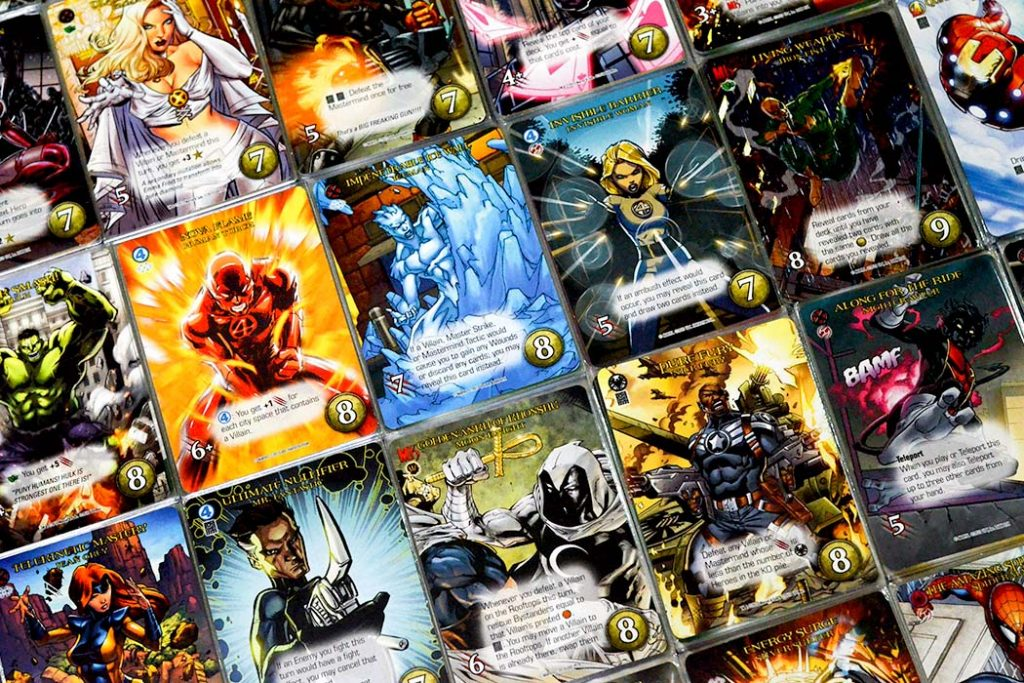Legendary Marvel Deck Builder Board Game