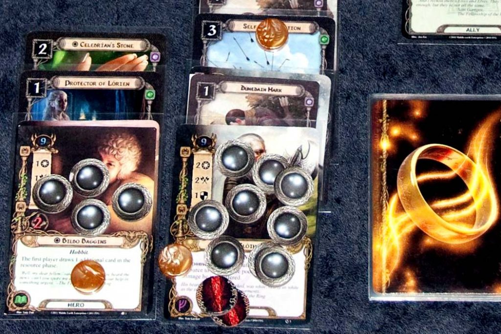 Lord Of Rings Card Game Board Game