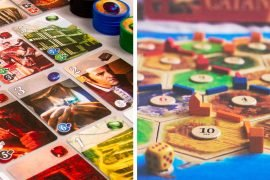 Splendor vs Catan