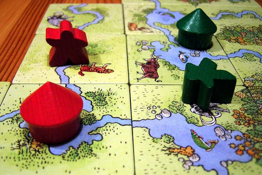 Carcassonne: Hunters and Gatherers Board Game