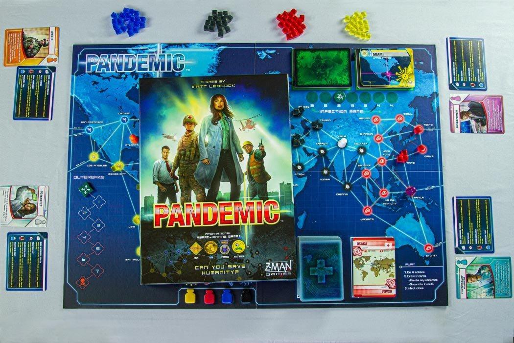 5 Games Like Pandemic