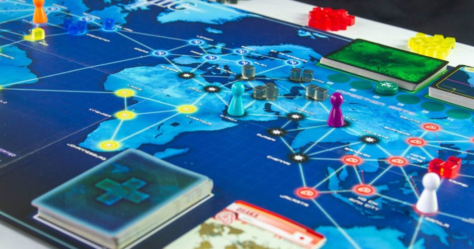 Pandemic Board Game Gameplay
