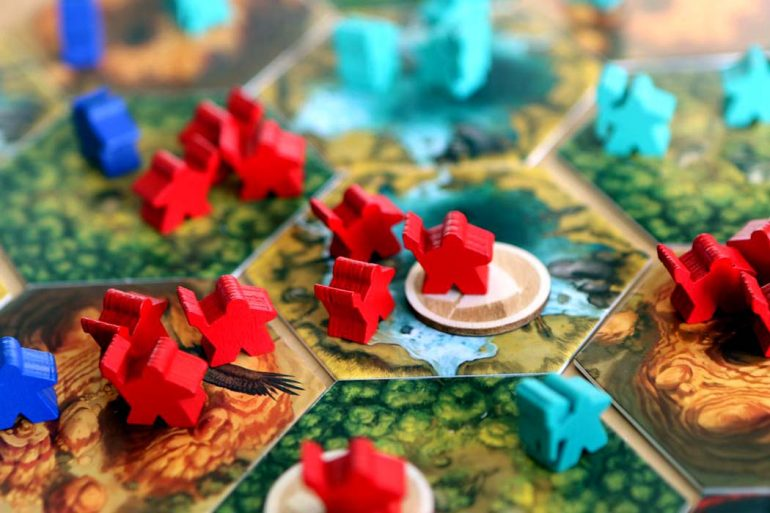 Rise of Tribes Board Games