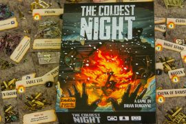 The Coldest Night Board Game Box