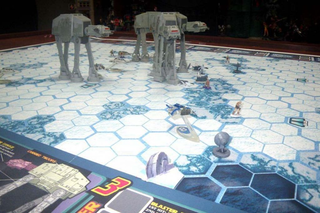 Assault on Hoth The Empire Strikes Back Board Game