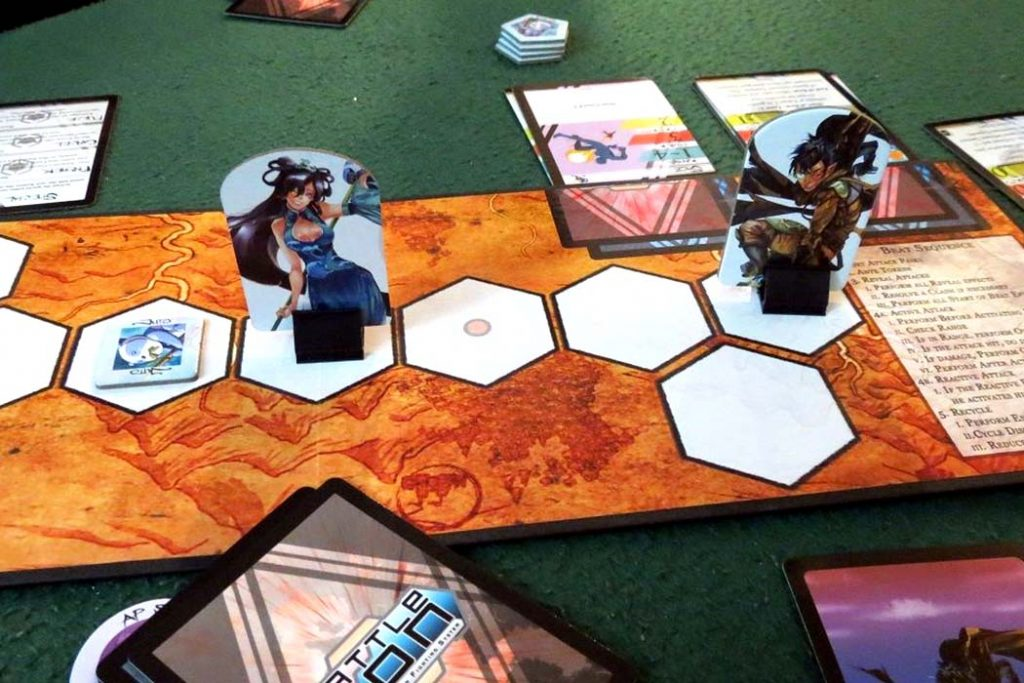 BattleCON War of Indines Board Game