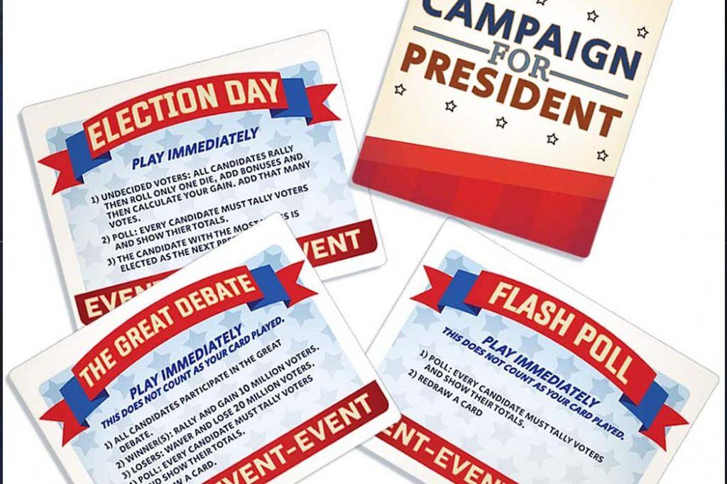 Campaign For President Board Game
