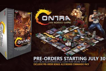 Contra is becoming a board game