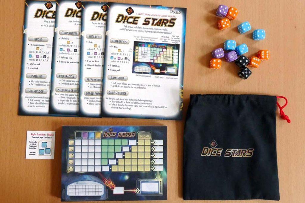 Dice Stars Board Game