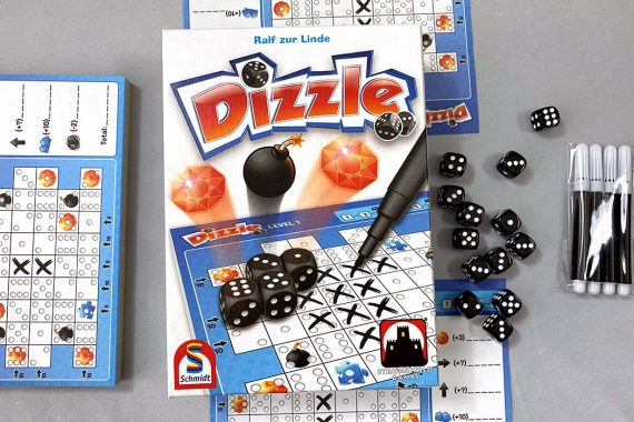 Dizzle Board Game Box