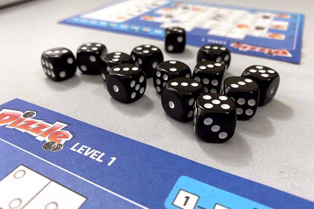 Dizzle Board Game Mini Dice