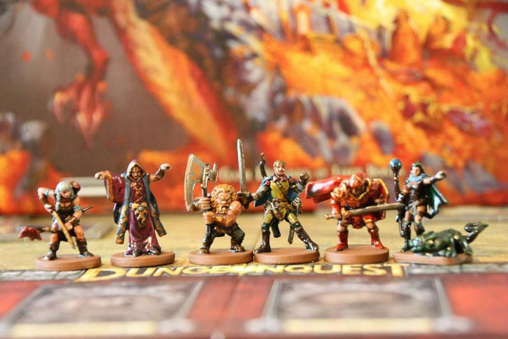 DungeonQuest Board Game
